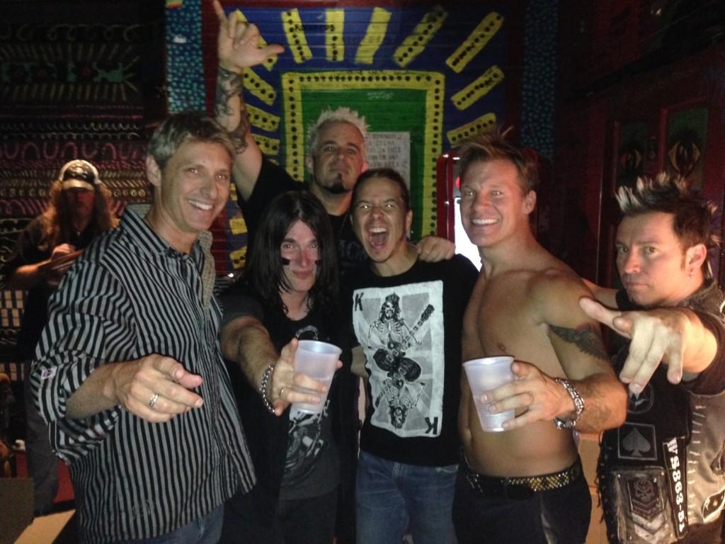 Fozzy & WWF's Chris Jericho