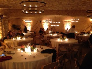 Scott's Sunstone Winery Cave Uplighting