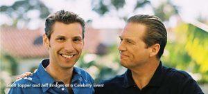 Jeff Bridges and Scott Topper