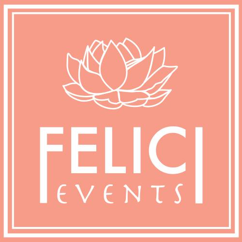 Felici Events Logo Pink